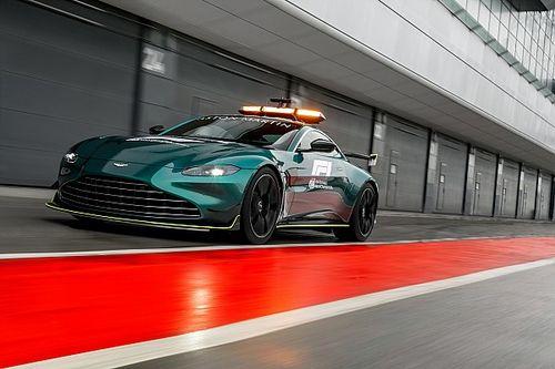 Aston Martin svela la nuova splendida safety car per la F1