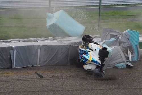 Newey illeso dopo il tremendo incidente alla 130R a Suzuka
