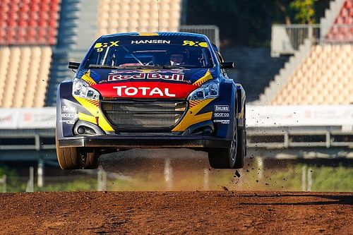 Spain WRX: Kevin Hansen beats brother Timmy to win at Barcelona