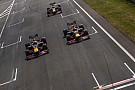 Forma-1 Képekben a Red Bull látványos F1-es parádéja