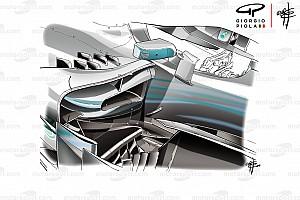 Formule 1 Analyse Technique - Les modifications qui ont aidé Mercedes à Monaco