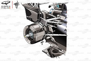 Formula 1 Analysis How Mercedes gains from its unique rear suspension