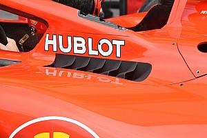 Formula 1 Analisi Ferrari: branchie con cinque flap dalla forma ad ala di gabbiano