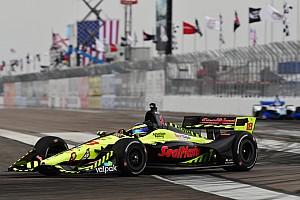 IndyCar Raceverslag Bourdais profiteert van late chaos en wint weer in St. Petersburg