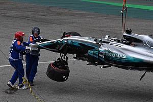 Formule 1 Réactions Hamilton voit son crash comme un défi à relever