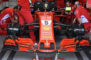 Формула 1 Аналитика Технический анализ: Ferrari привезла в Испанию не одни зеркала на Halo