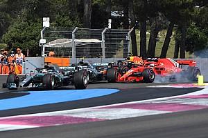 Formule 1 Réactions Hamilton : Comme si Vettel