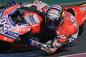 MotoGP Prove libere Losail, Libere 4: tripletta italiana con Dovi davanti a Petrucci e Rossi