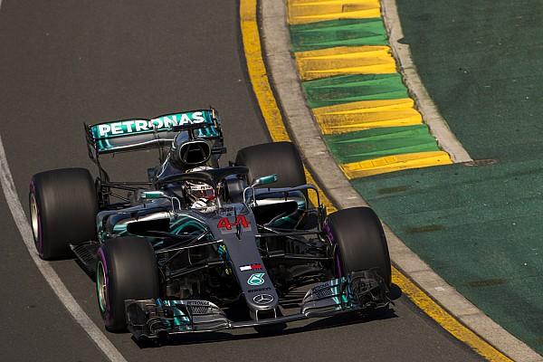 F1 突发新闻 澳大利亚大奖赛排位赛:汉密尔顿强势摘下杆位,博塔斯Q3撞墙
