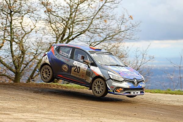 Trofei marca svizzera Tappa Rallye Pays du Gier: Styve Juif vince il Clio R3T Alps Trophy