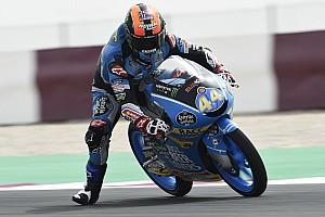Moto3 Prove libere Losail, Libere 3: Canet e Martin davanti ad Antonelli