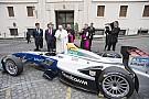 Формула E Папа Франциск прийняв Формулу Е у Ватикані