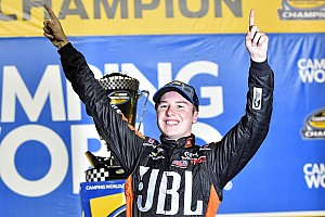 NASCAR Truck Race report Christopher Bell crowned Truck champion as Briscoe wins finale