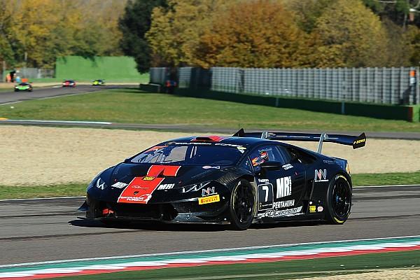 Lamborghini Super Trofeo Qualifying report Lamborghini World Final: Breukers snatches pole from Abbate