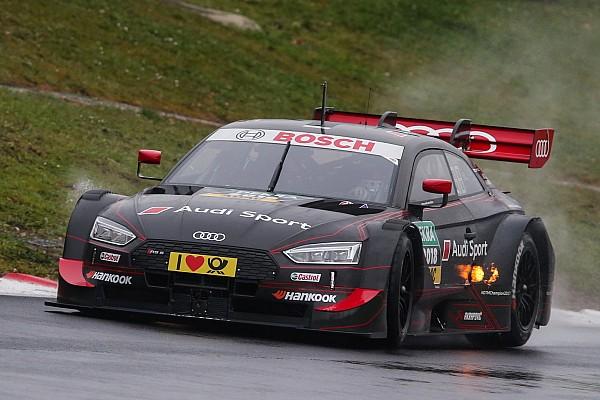 DTM Test Rast prova l'Audi modificata: