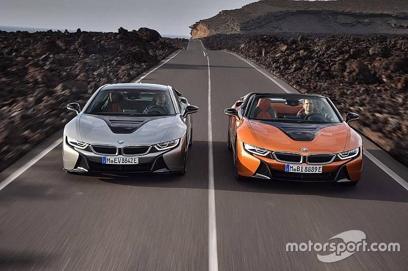 El i8 Coupé 2018, también actualizado por BMW