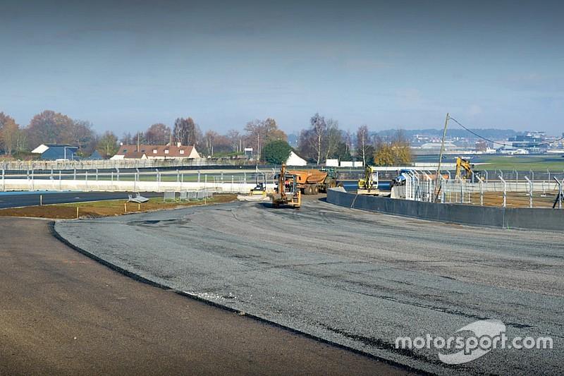 Le Circuit des 24 Heures du Mans perd trois mètres