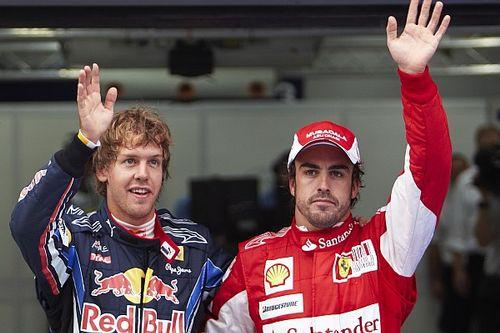 """F1: Alonso diz que faltou um """"carro adequado"""" para ele e Vettel serem campeões pela Ferrari"""