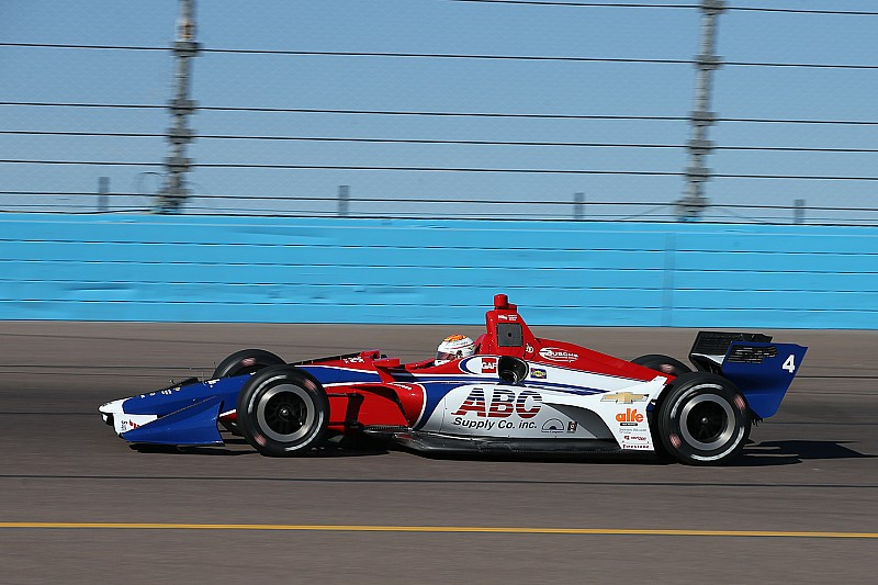 Leist Tops Indycar Rookies In Phoenix
