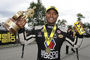 NHRA Breaking news Antron Brown says he's inspired by NBA icon Michael Jordan