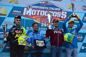 Motocross Italiano Gara Michele Cervellin si conferma ai vertici della classe MX2