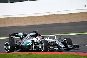 Formula 1 Testing report Ocon leads final morning of Silverstone F1 test