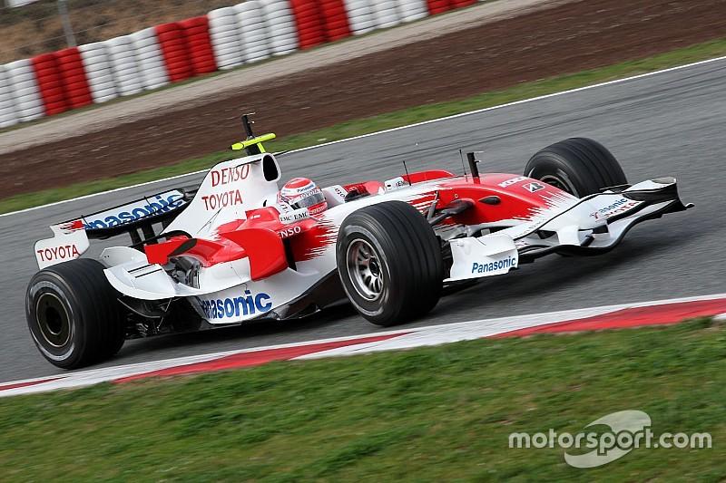 GALERI: Sejarah aksi Toyota di Formula 1