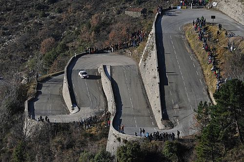 Le parcours du Rallye Monte-Carlo 2022 modifié