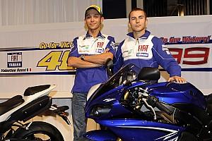 Fotos: el 'reto de los 10 años' de los pilotos de F1 y MotoGP