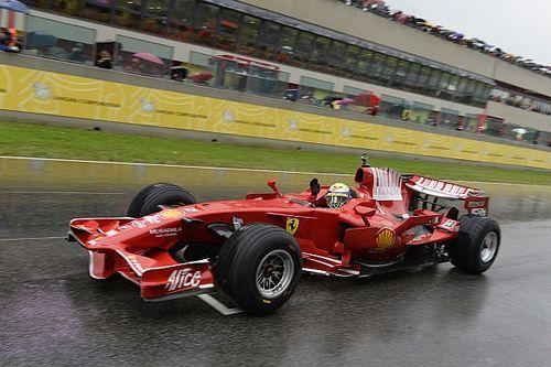 C'était un 10 novembre: Massa honoré par Ferrari