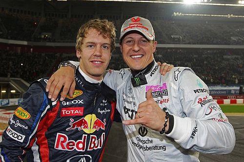 Vettel erkent: Huidige toestand Michael Schumacher doet me pijn