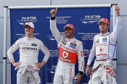 GALERÍA: Lewis Hamilton y sus 100 pole position