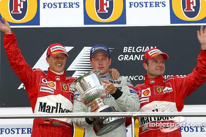 GALERÍA: las 21 victorias de Kimi en F1