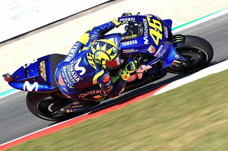 VIDEO: Kecelakaan Rossi di FP4 MotoGP Belanda