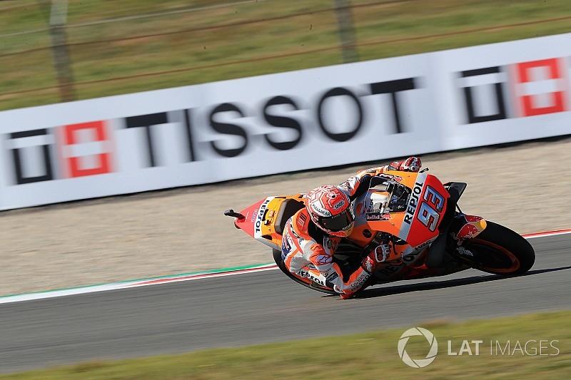 MotoGP Assen: Isınma turlarında Marquez lider
