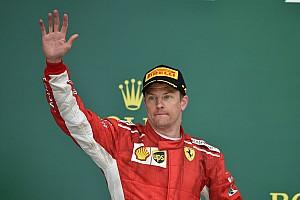 Forma-1 Statisztikák Räikkönen 24 alkalommal állt úgy dobogóra, hogy még mindig nem nyert