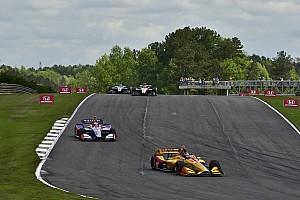 IndyCar Réactions Épargné par la malchance, Hunter-Reay termine sur le podium