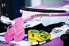 Fórmula 1 Force India imita a McLaren: una famosa marca de chanclas patrocina su Halo