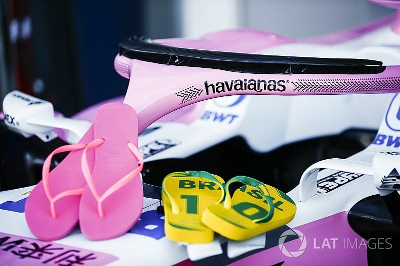 Force India anuncia patrocinio de chanclas Havaianas para el Halo