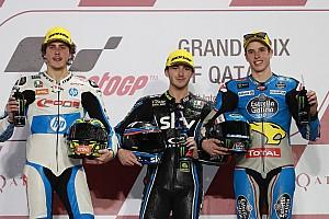 Moto2 Crónica de Carrera Bagnaia se estrena en Moto2 tras un problema en el freno de Márquez