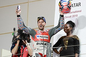 MotoGP Breaking news Dovizioso admits Qatar win was an