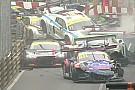 Macau GT'de zincirleme kaza yaşandı, Mortara kazandı!