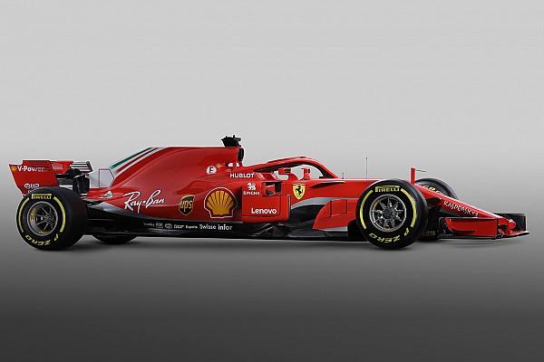 Formule 1 Diaporama Photos - Découvrez la Ferrari SF71H