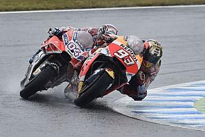 MotoGP Новость Видео: Довициозо не дает Маркесу вырвать победу в последнем повороте