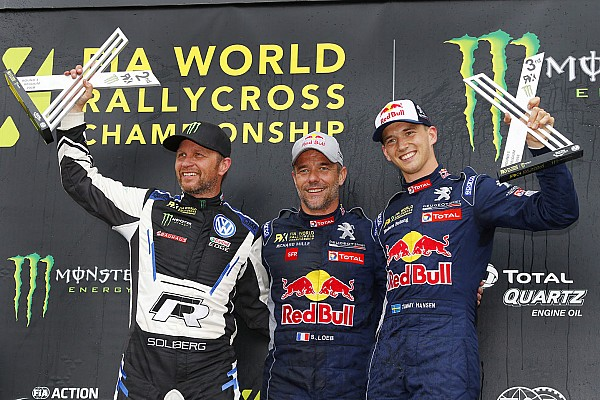 Belgium World RX: Loeb romps to first win since 2016