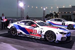 IMSA 速報ニュース BMW、IMSA参戦のM8 GTEカラーリング公開。伝統のストライプまとう