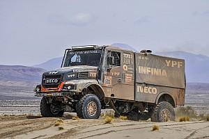 Dakar, Camion, Tappa 11: colpo di scena di Villagra (Iveco) che passa in testa!