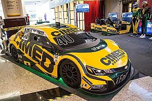 Stock Car Brasil Últimas notícias Cimed apresenta carro para temporada 2018 da Stock Car