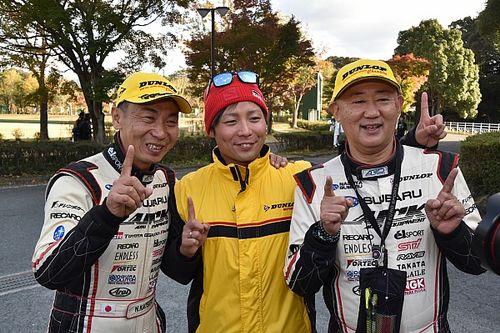 新城ラリー:勝田、最終日もリードを守り8度目の全日本ラリー王者