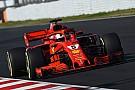 Vettel domina teste da manhã em Barcelona
